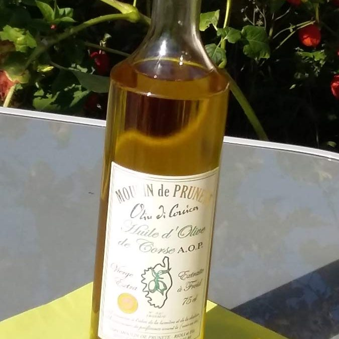 Les huiles d'olive du Moulin de Prunete
